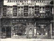 France loses 1825 music store where great composers played