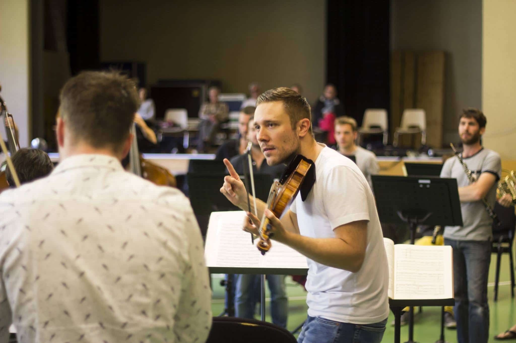Swiss promote concertmaster to music director
