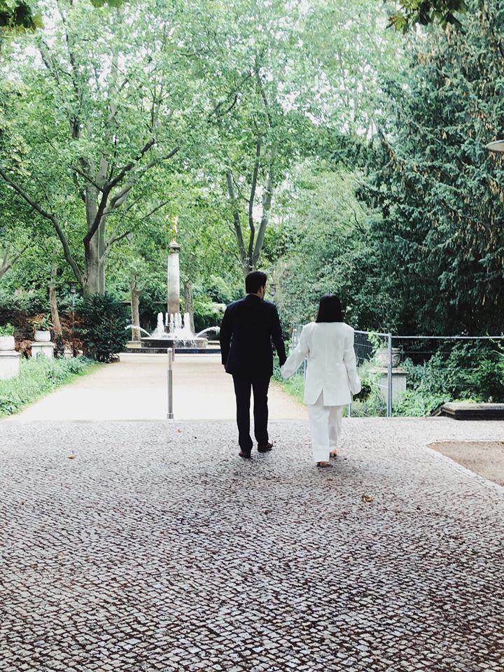 Mazal tov: Maestro got married