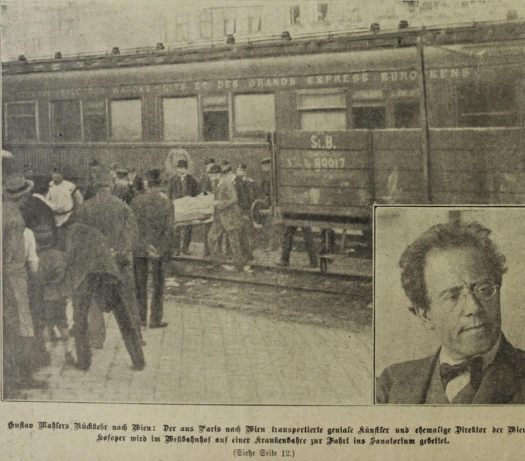 Found: The last known photo of Gustav Mahler