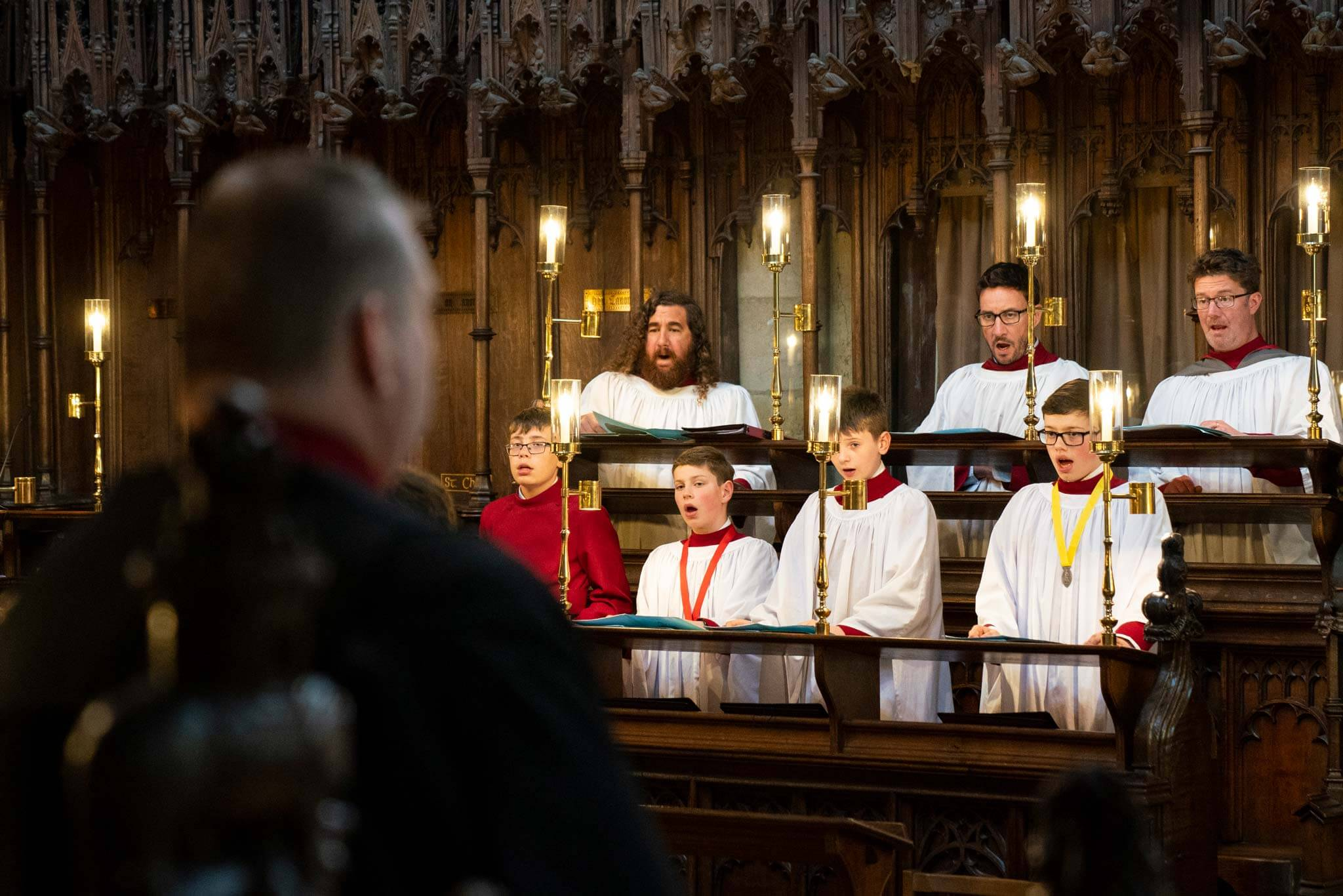 Music crash at another UK cathedral