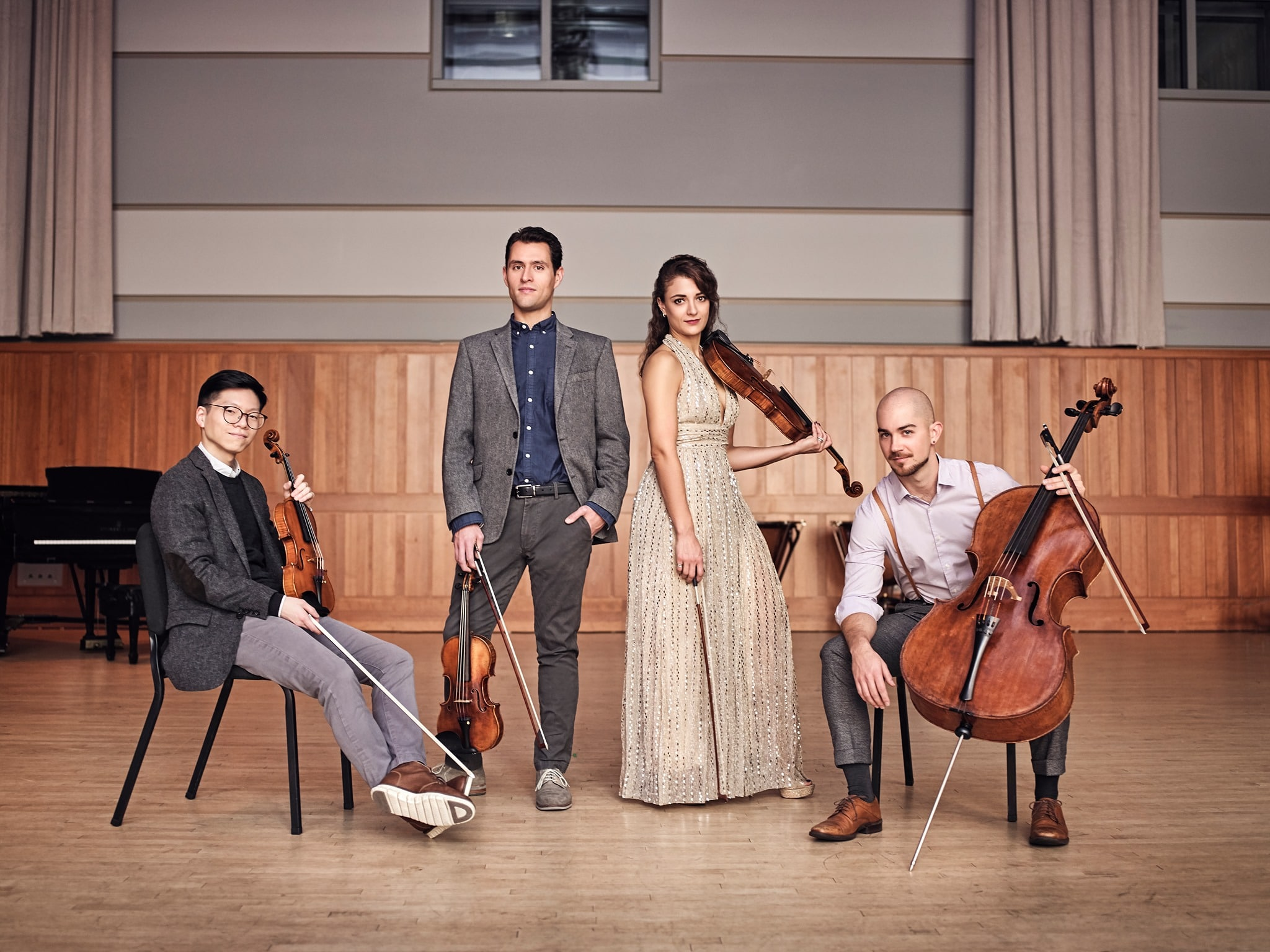 Curtis rolls out quartet in residence