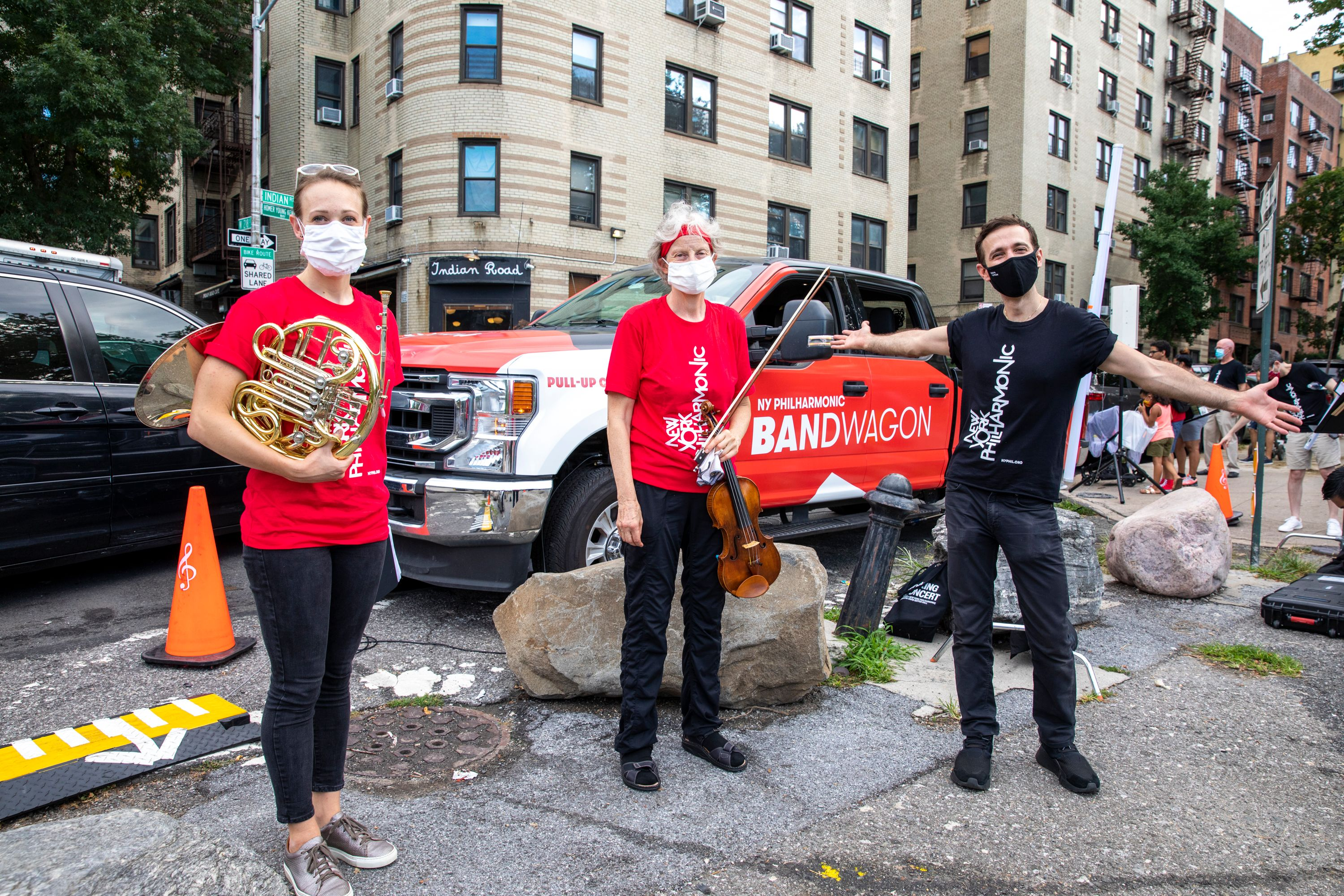 Covid latest: Only incidental music is permitted in New York