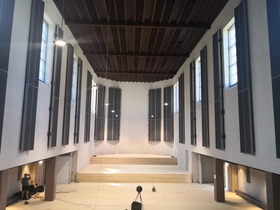 New concert hall opens – empty