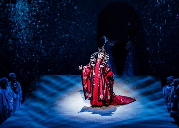 Taiwan put on Turandot with 260 artists, 1,800 audience