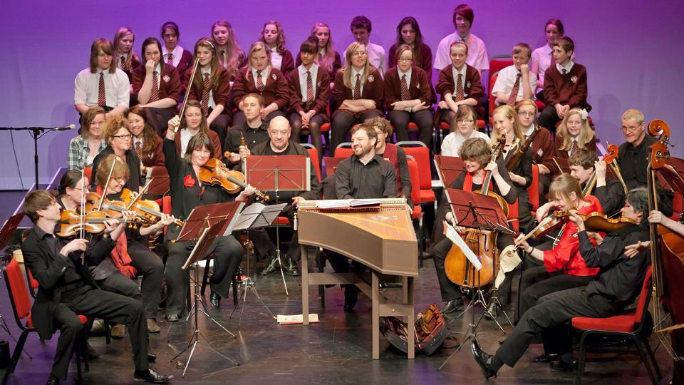 London orchestra moves residency into school
