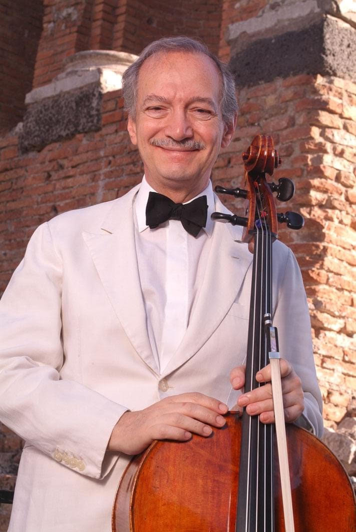 Italy mourns premier cellist, 80
