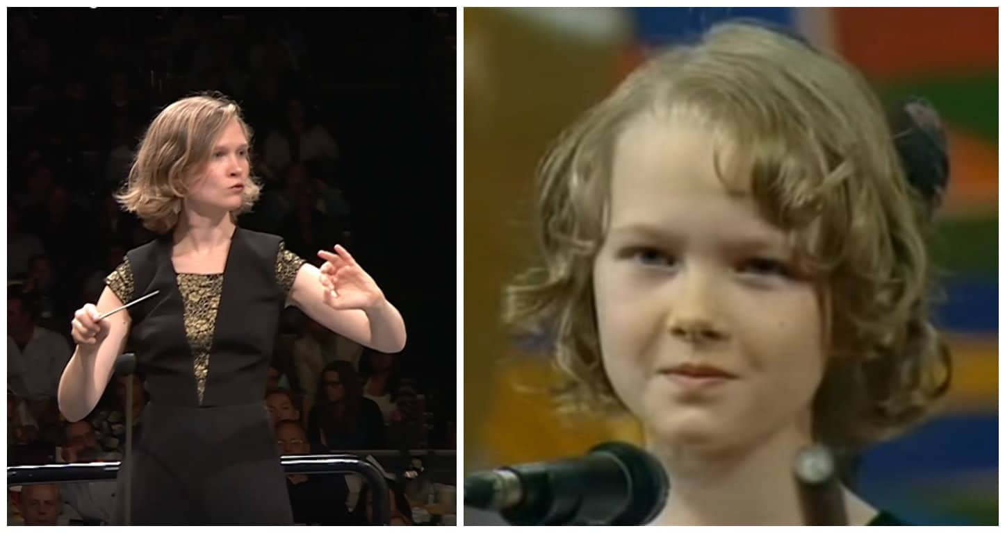 Stars when they were young (1): Mirga sings
