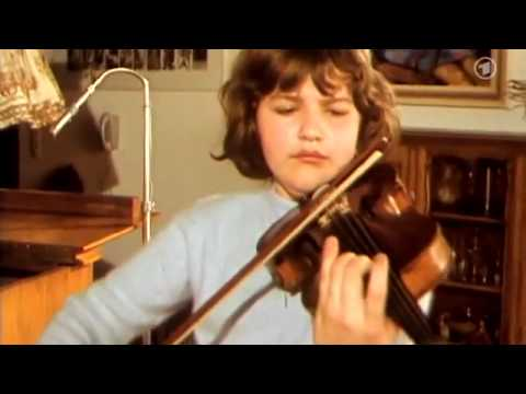 Stars when they were young (9): Anne-Sophie Mutter, 13