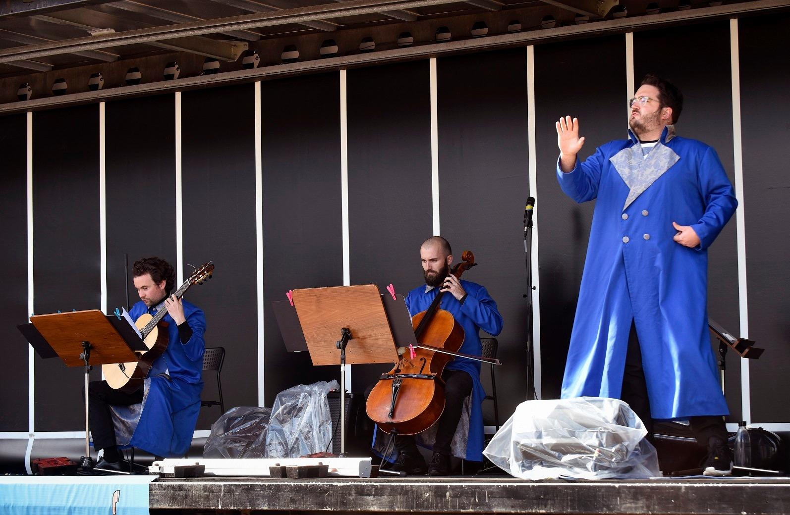 Scottish Opera is doing nightly pop-ups