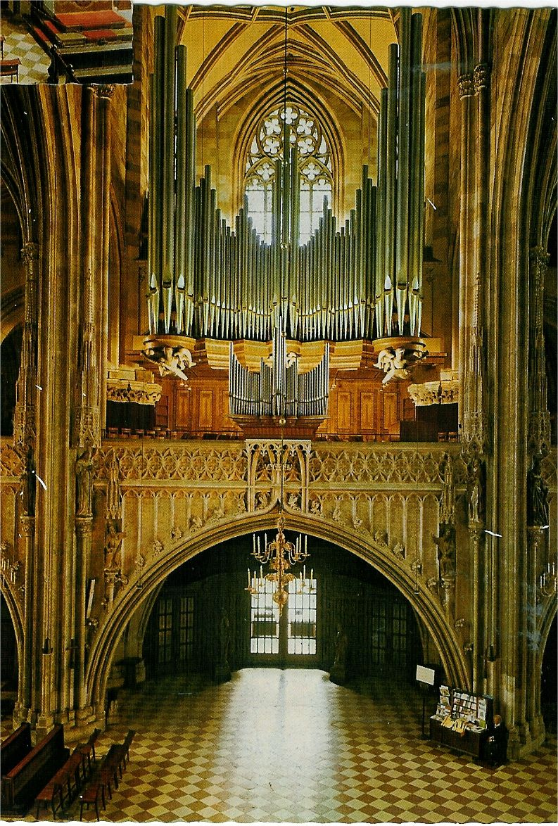 Vienna's great organ is back after 30 years