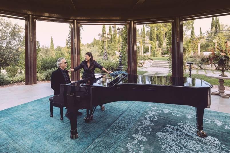 Watch now: The Bocelli Bartoli duet