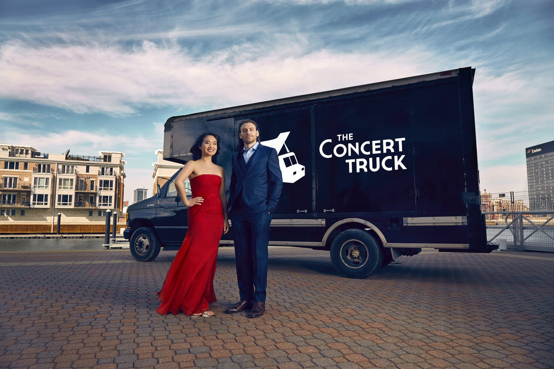 Washington trucks off opera into Virginia