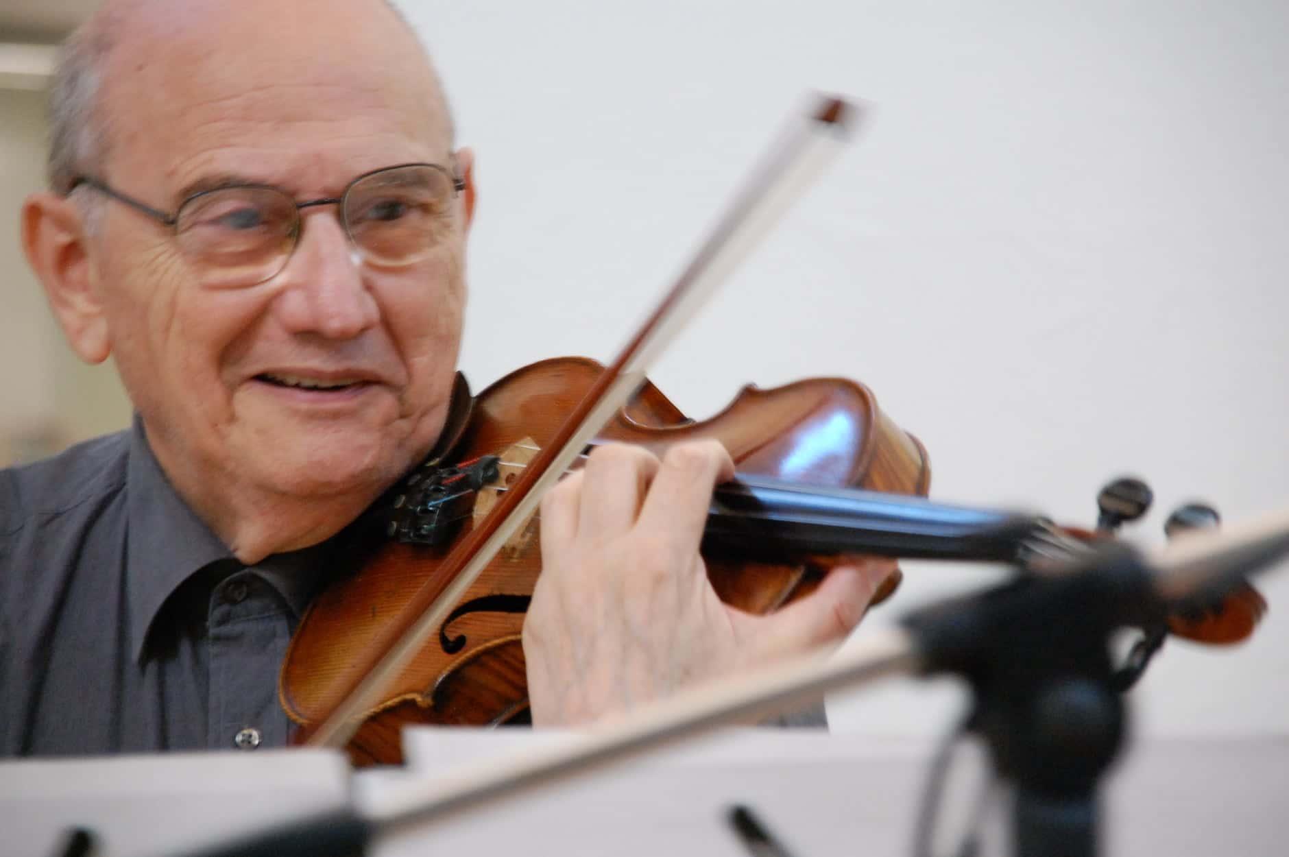 Italian violinist, RIP