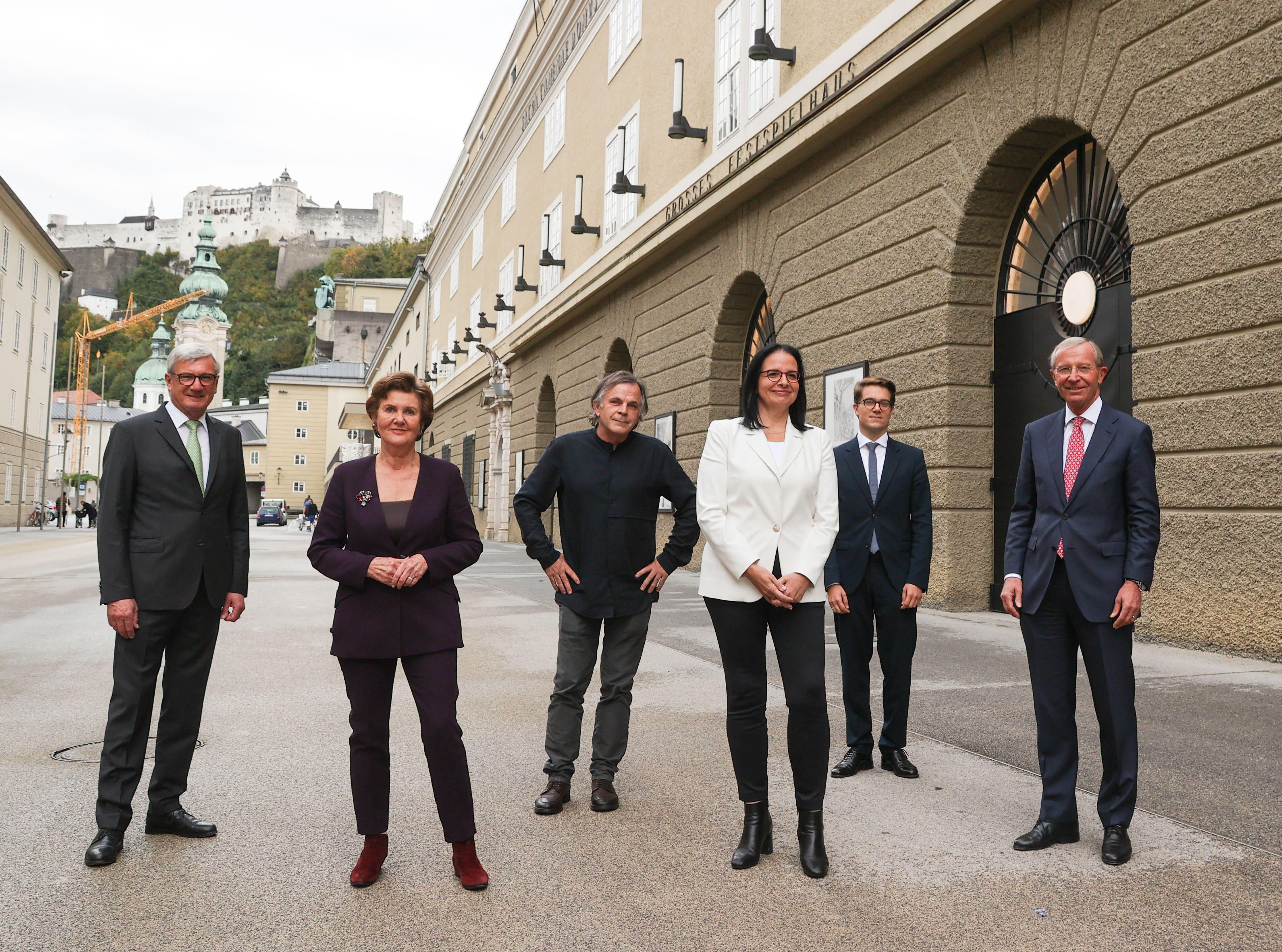 Austria spends $1/4 billion on Salzburg halls