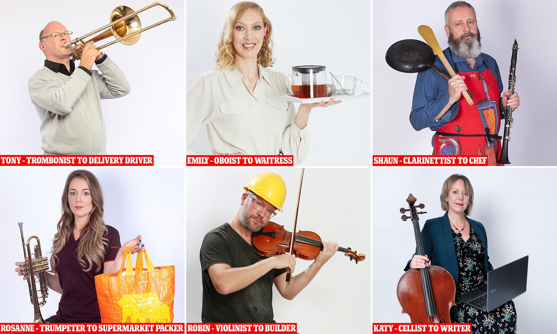 Meet the musicians who have taken up 'viable' jobs