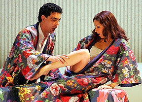 How Netrebko and Villazon played this gripping scene