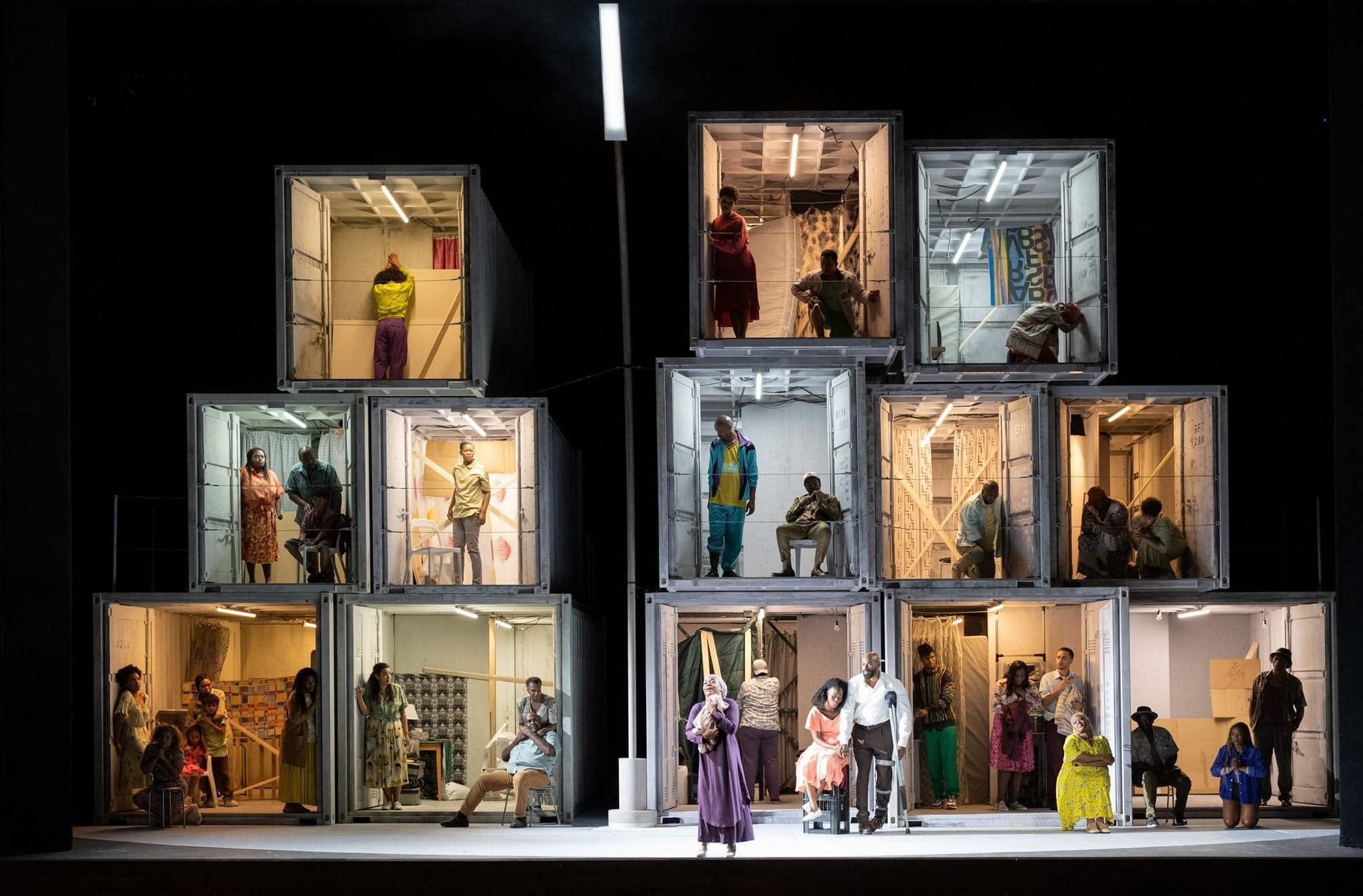 Here's how Porgy looks in Vienna's Covid staging