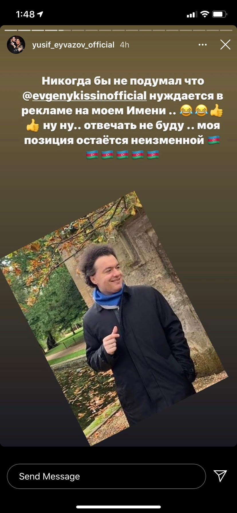 Evgeny Kissin attacks Netrebkos over Azerbaijan war