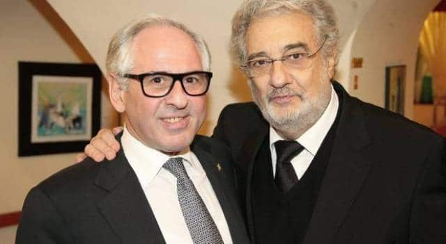 Locked down with Placido Domingo in a Vienna restaurant