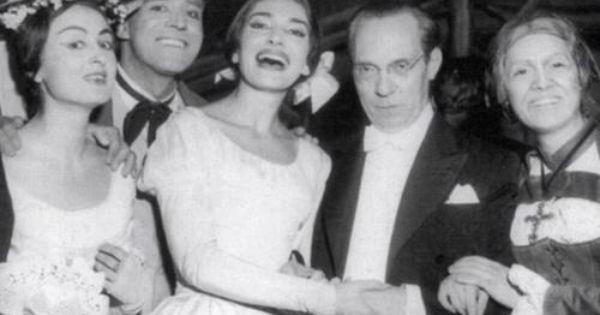 Death of a Callas double, 87