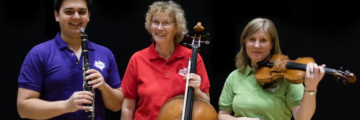 Orchestra beams dementia concerts into care homes
