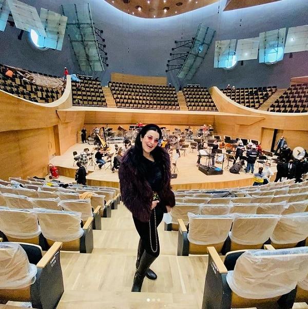 Angela Gheorgiu headlines Turkey's hardline new hall