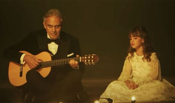 Andrea Bocelli and daughter break the 3 million barrier
