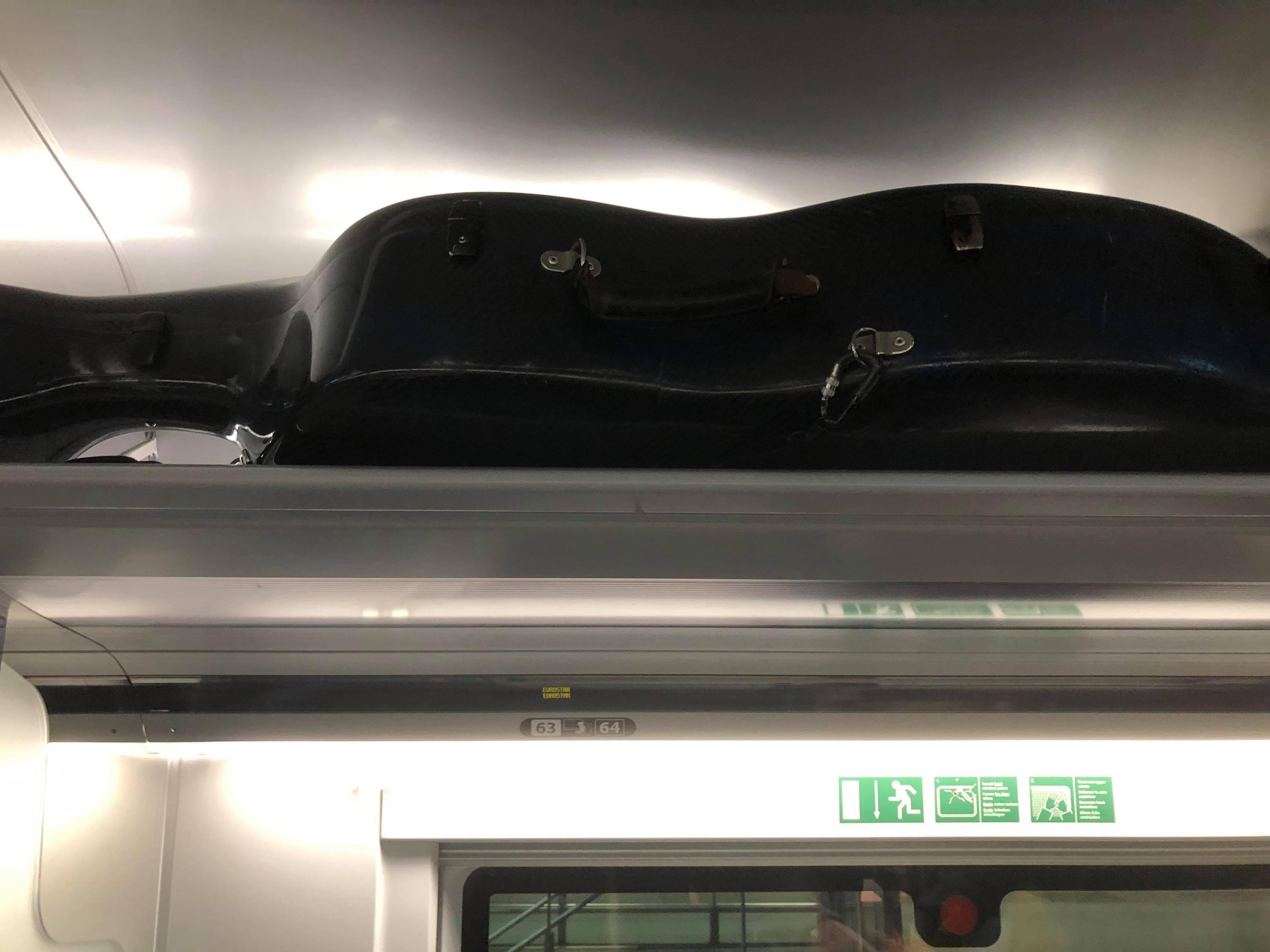 Sneak thieves: Eurostar doubles cello fees