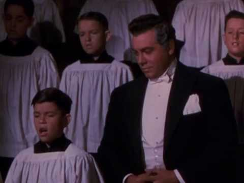 When Pavarotti sang for Mario Lanza. Or not