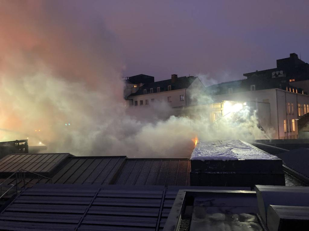Serious fire damage to Brussels concert hall and organ