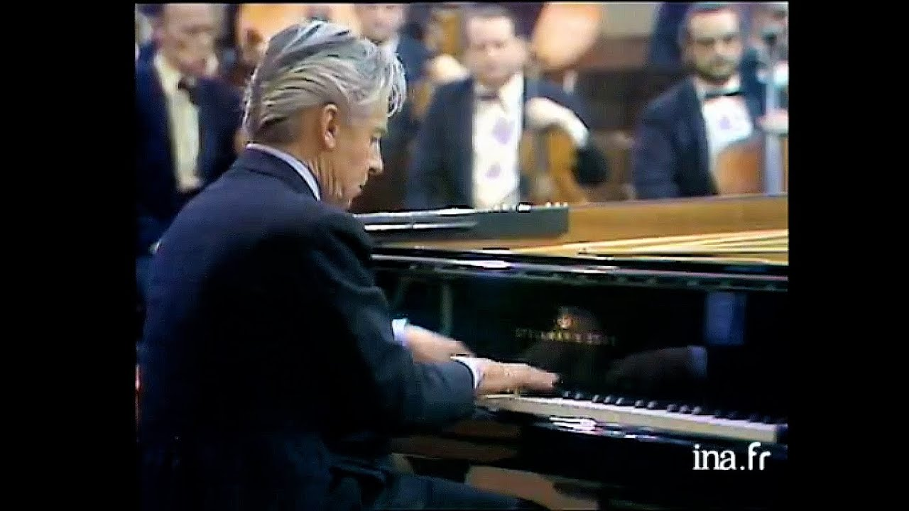 New online: Karajan is reduced to playing 3rd piano