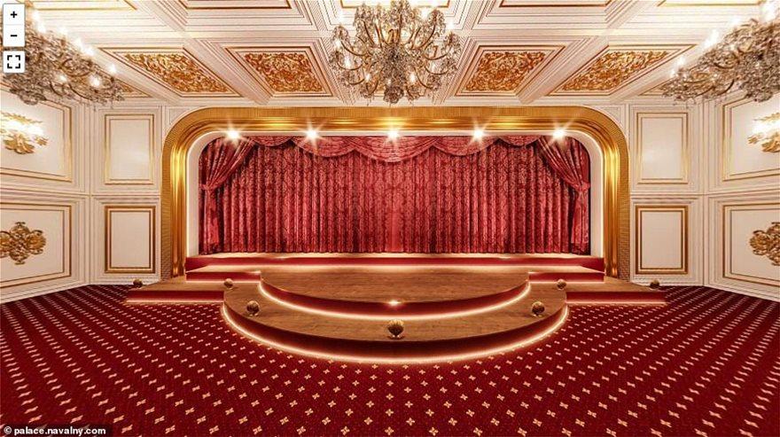 Revealed: Inside President Putin's gold-plated concert hall