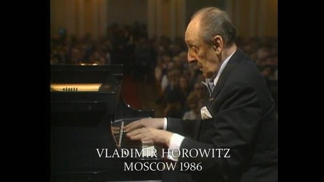 New on-line: Horowitz in Moscow, 1986