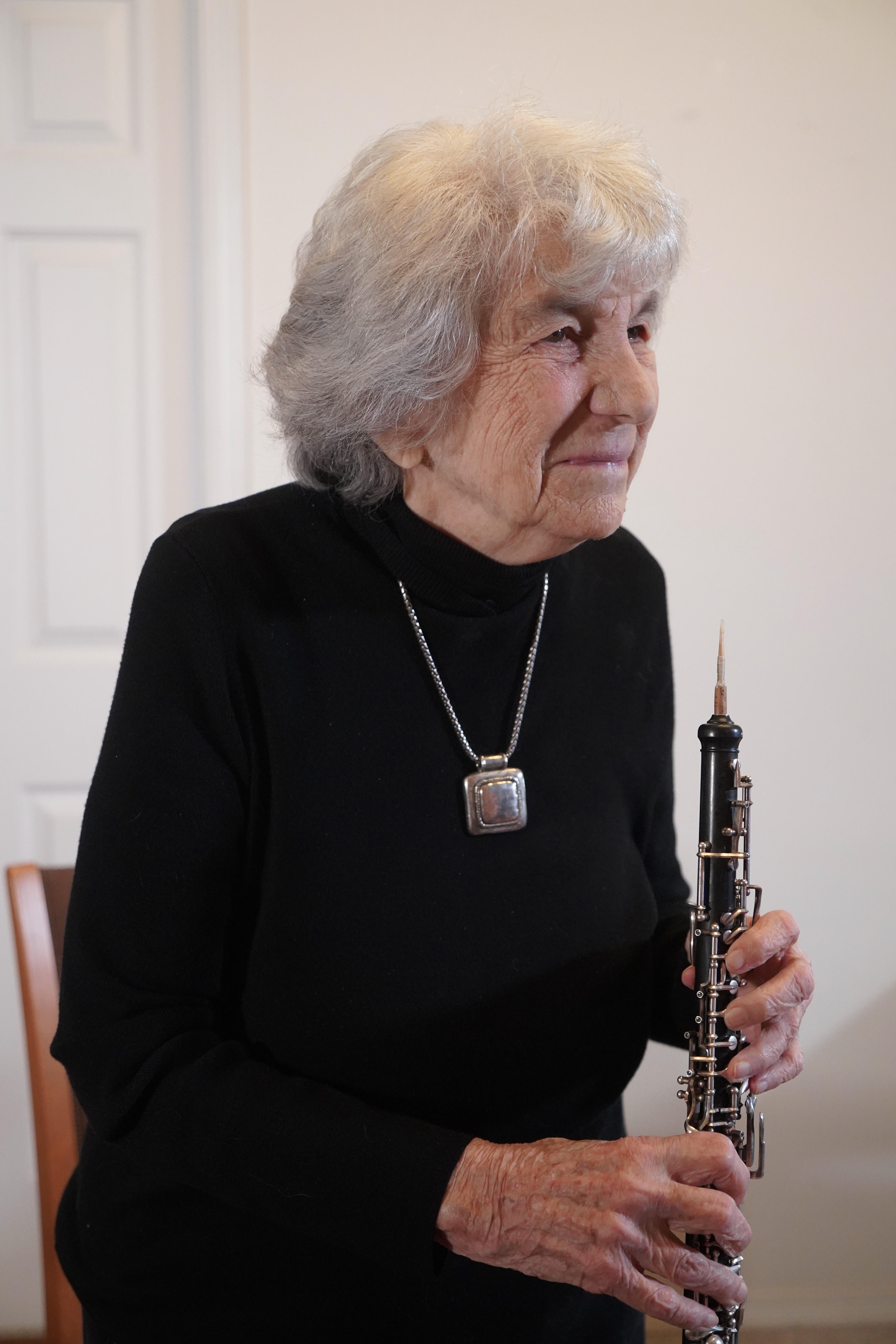 This trailblazing oboist is 100 today and still playing