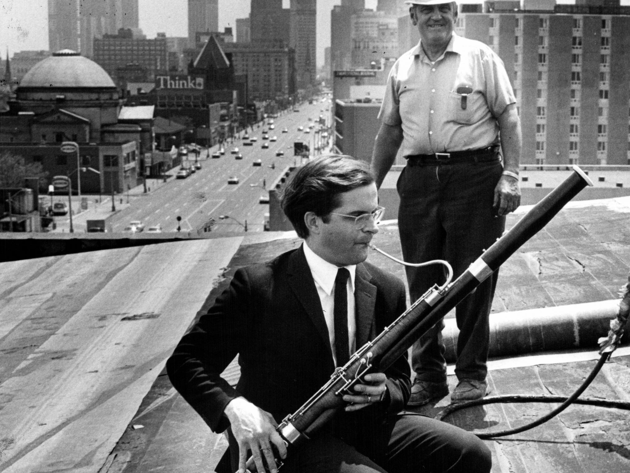 The bassoonist who saved a concert hall