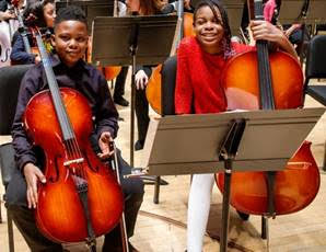 Youth orchestra gets a million bucks out of the blue