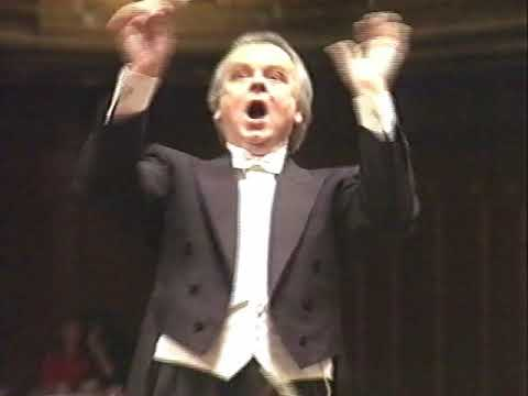 Conductor goes berserk, but the strings ain't watching