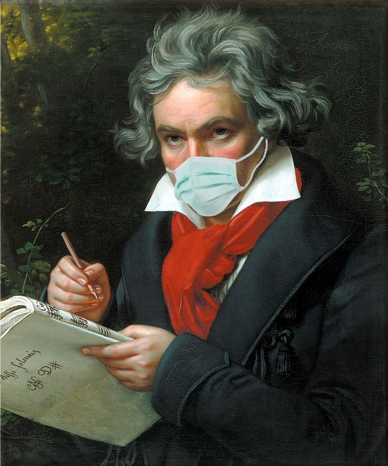 I fed all of Beethoven into a computer and told it to compose