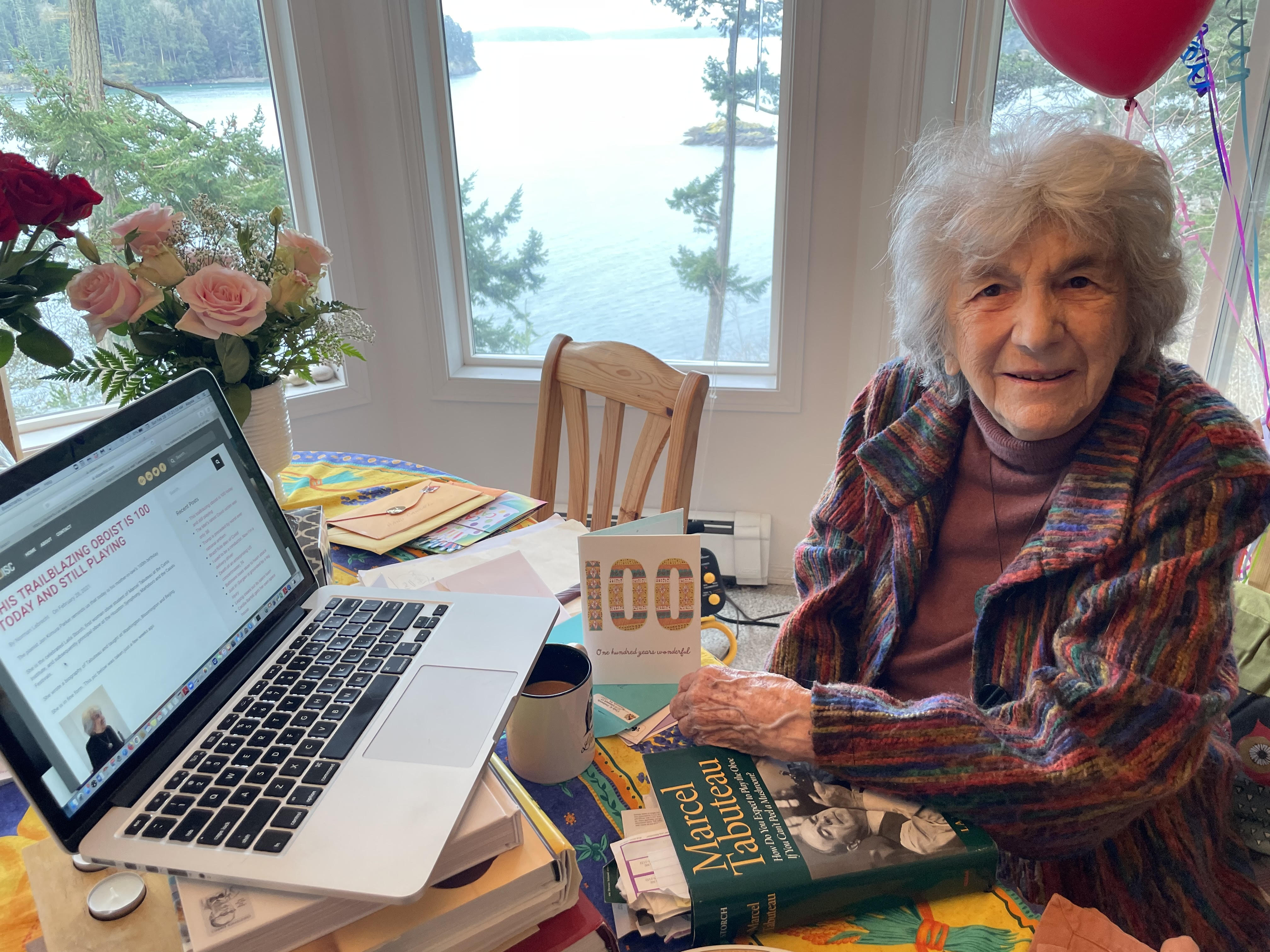Oboe star, 100, reads her story on Slipped Disc
