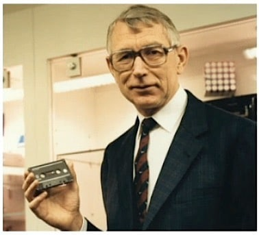 Farewell to the cassette inventor