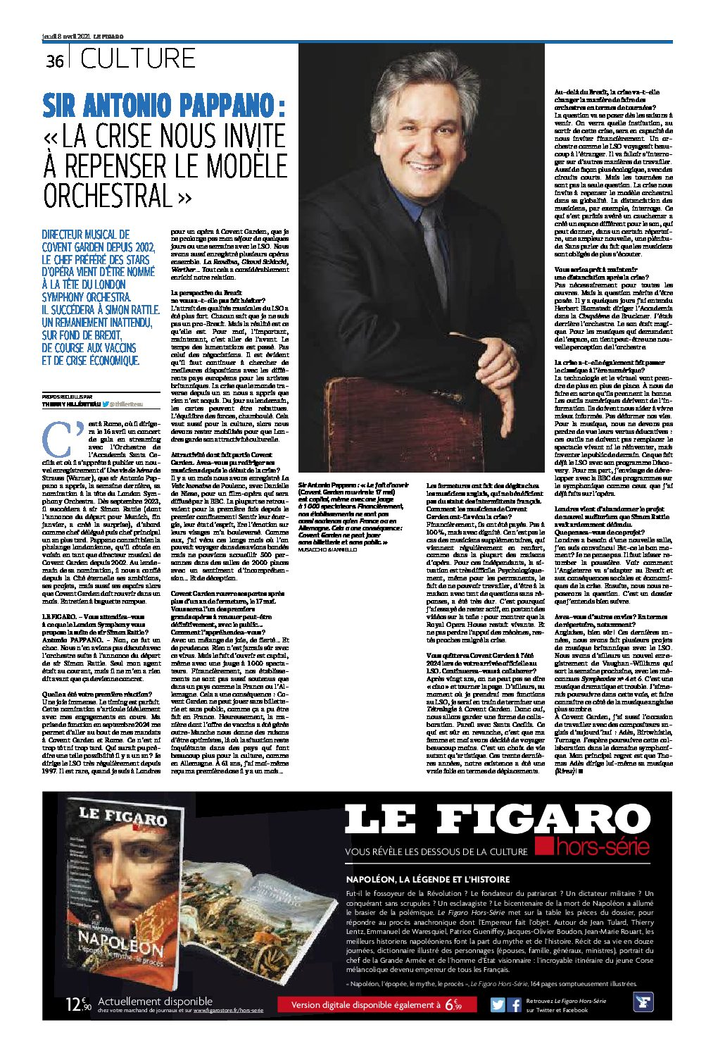 Pappano: It's time to rethink the orchestra model