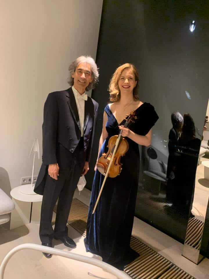 A new violin concerto just received its world premiere