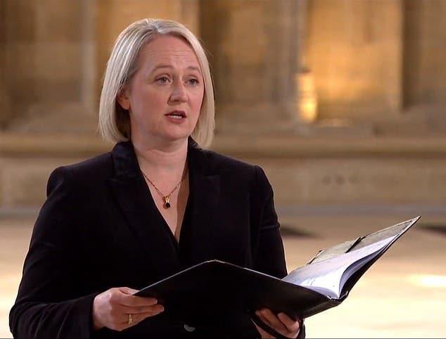 Australian soprano soars at Prince Philip's funeral