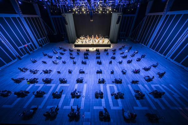 Panic and solace at the New York Philharmonic's return