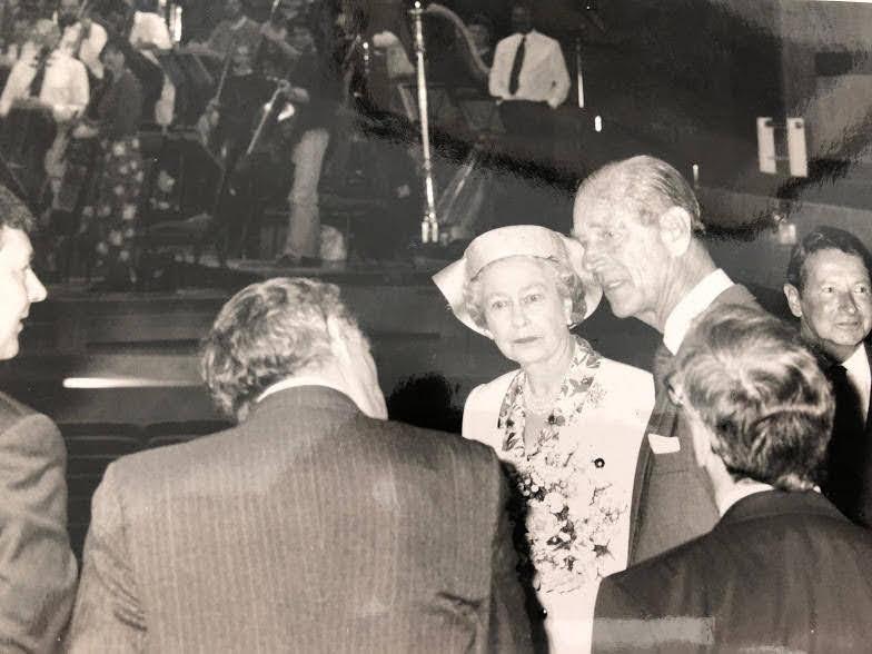 Prince Philip had fun at Britain's best hall