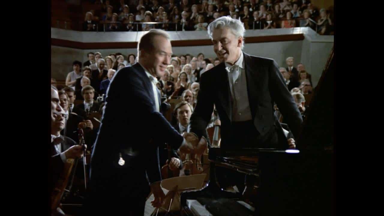 New online: When Karajan took over a concerto on live TV