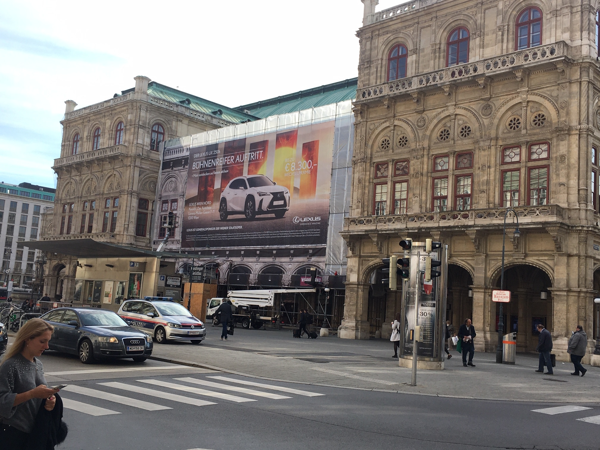 Bad ads: Vienna State Opera is now selling cars