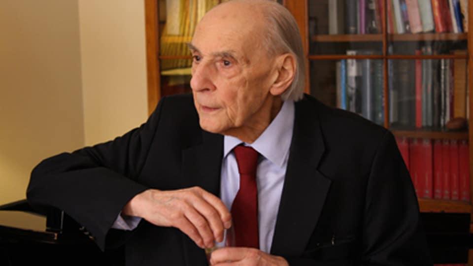 A British refugee composer turns 95