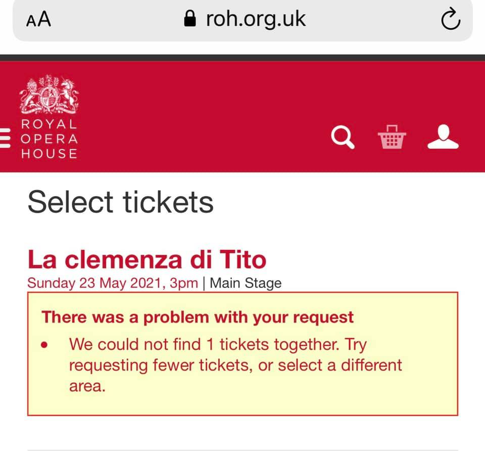 Covent Garden has a ticketing problem
